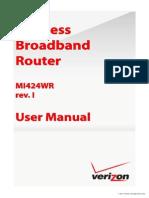 Vz Bhr3 Rev i User Manual