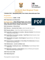South Africa and North East England Trade Seminar and Exhibition