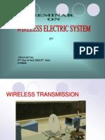 Wireless Electric System