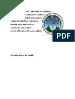 Universidad de San Carlos de Guatemala Protocolo Informe Final