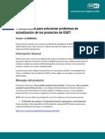 ESET Manual Actualizaciones