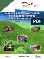 Guía de la Gestión integrada de recursos hídricos para gobiernos locales