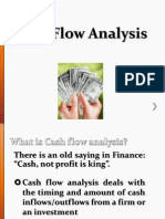 FM 100 Cash Flow Analysis