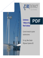 Repower_Offshore Foundations for Wind Turbines_Current Trends for Jacket Substructures
