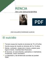 El Suicidio en Los Adolescentes
