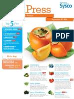Sysco Fresh Press 9.26.13