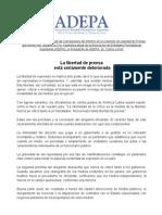 ADEPA- Conclusiones Libertad de Prensa.doc