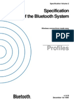 Bluetooth Specification