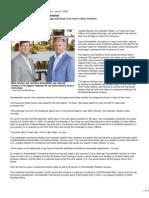 Spokane Journal of Business Article