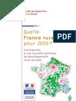 Quelle France Rurale Pour 2020 DATAR