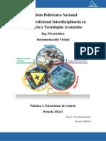 Práctica 1. Estructuras de control 2014-1