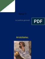 Tema v La Justicia