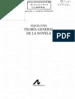 Garcia Peinado Miguel - Hacia Una Teoria General de La Novela