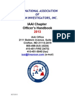 Chapter Handbook 2013