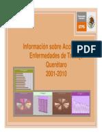 Estadisticas Querétaro 2001-2010
