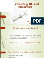 Pharmacology of Local Anesthetics I