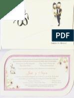 Invitacion Matrimonio