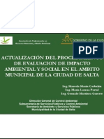 Ing. Marcela Marín Corbalán - Procedimiento de Evaluación de Impacto Ambiental en la Ciudad de Salta