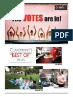 Best of Claremont, CA. Claremont COURIER