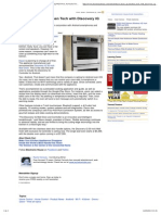 Product News_ Dacor Heats Up Kitchen Tech With Discovery iQ Wall Oven, By Rachel Cericola - Electronic House