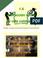 Interaccion Social y Vida Cotidiana-Francois