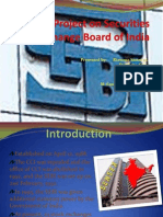 Project on Securities Exchange Board of India