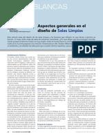 Articulo Aspectos Generales en El Diseno de Salas Limpias Www.farmaindustrial.com