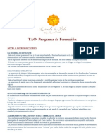 Tao Programa Formacion