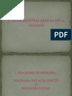 7  HERRAMIENTAS BÁSICAS DE LA CALIDAD