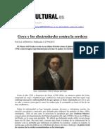 Goya y Los Electroshocks Contra La Sordera