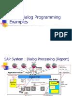 ABAP Dialog Programming Examples(Scribd)