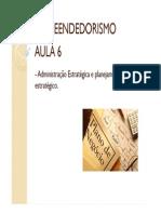 AULA 6 - Administracao Estrategica