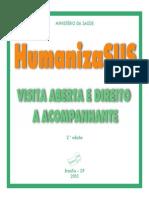 Humanizasus Visita Aberta Direito Acompanhante
