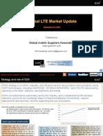 GSA Global LTE Market Update 190913