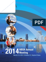 National Business Officers Association NBOA 2014 Annual Meeting Program