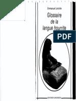 151275680 Laroche Glossaire de La Langue Hourrite