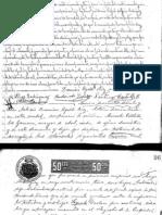 Testamento de Micaela Villalobos Zamora (San Ramón, Costa Rica, 1903)