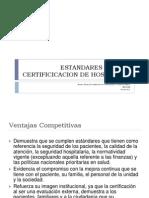 Estandares Para La Certificicacion de Hospitales Enero 2012