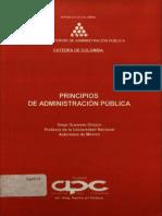 LIBRO- Principios de Administración Pública -CulturaGeneralParaPanistas