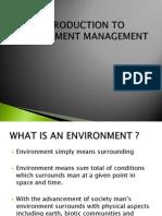 Environmental Mgmt Unit 1