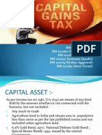 Tax Planning With Regard to Capital Gains