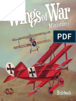 Wings of War Mini-Rulebook
