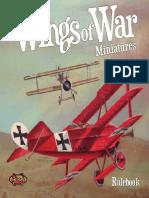 Wings of War Mini-Rulebook