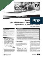 Subsidios Estatales or Fallecimiento y Gastos de Cepelio