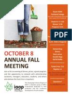 CU-IAAP October Fall Event