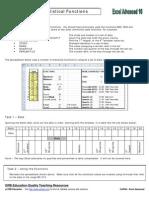 CoP024 Excel Advanced