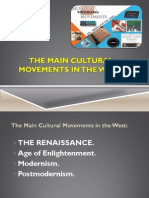 The Study of Literary Movements