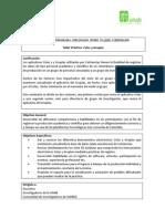 Taller Pratico Cvlac y Gruplac-Extension