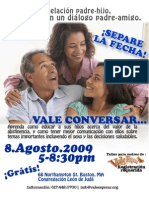 090805 Vale Conversar Spanish POSTER 8.5x11