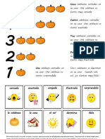 Cinco Calabazas PRINTABLE